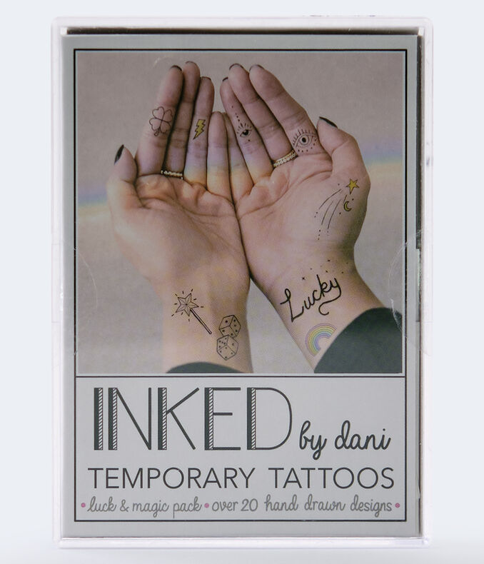 Inked By Dani Luck & Magic Temporary Tattoos