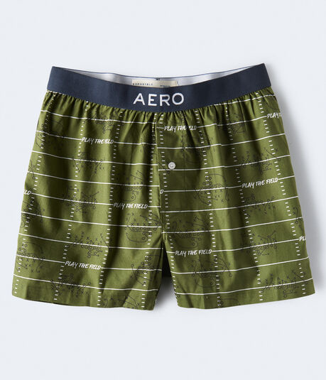 Football Field Woven Boxers