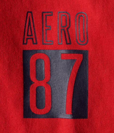 Long Sleeve Aero 87 Graphic Tee