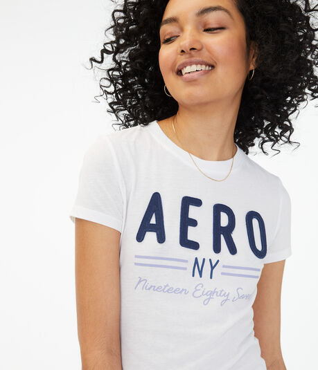 Aero NY Stripe Graphic Tee