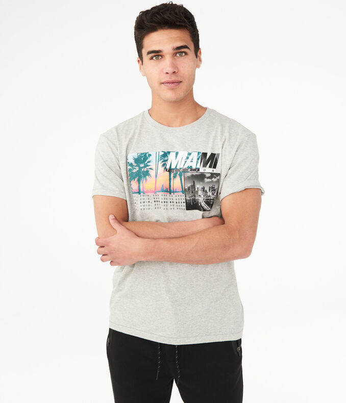 Miami Florida Graphic Tee