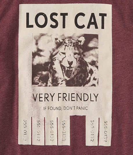Lost Cat Graphic Tee