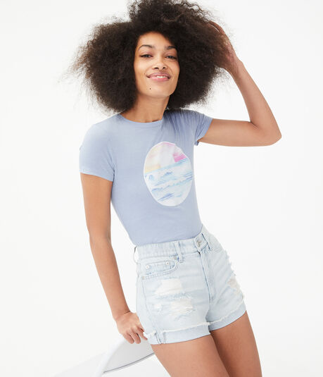 Ocean Sunset Graphic Tee