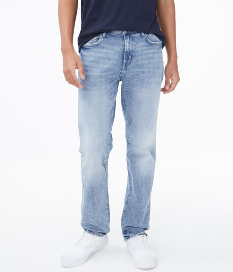 Real Denim Straight Stretch Jean