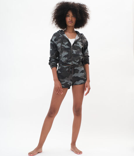 Camo Relaxed Retro Shorts