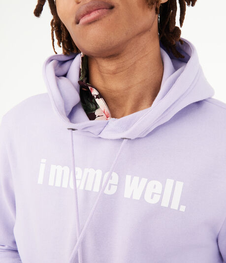 I Meme Well Pullover Hoodie
