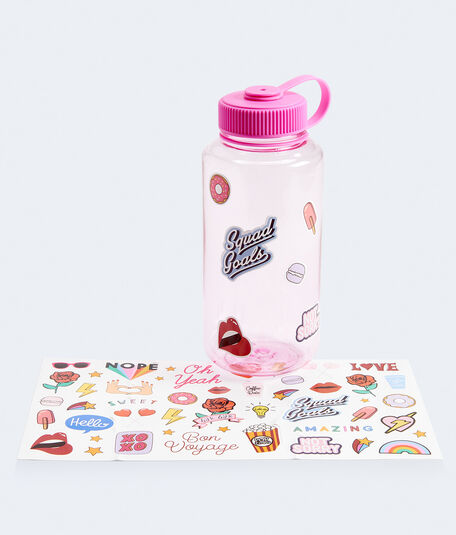 Water Bottle With Stickers