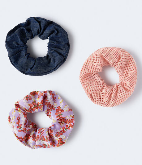 Mesh Scrunchie 3-Pack