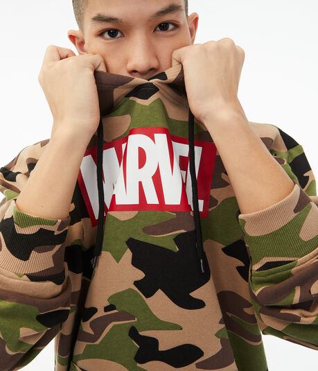 Marvel Camo Pullover Hoodie