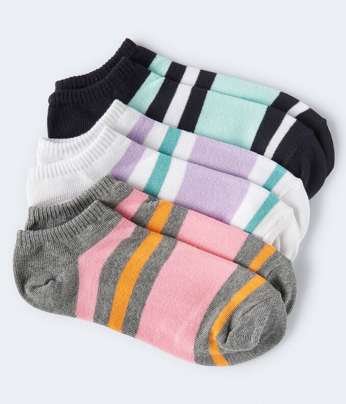 Striped Ankle Sock 3-Pack