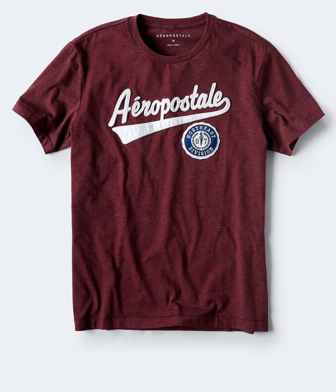 Aeropostale Patch Graphic Tee