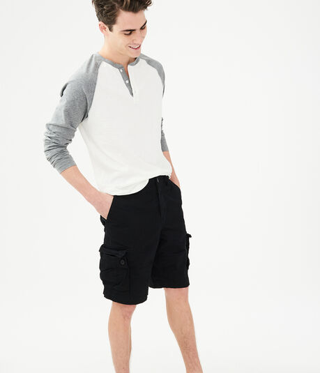 "Classic Stretch 10.5"" Cargo Chino Shorts"