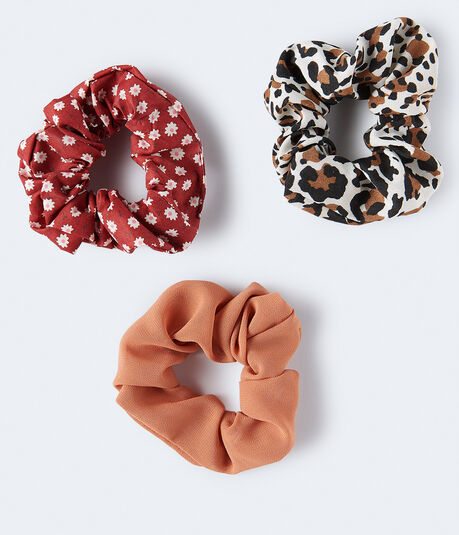 Leopard Scrunchie 3-Pack