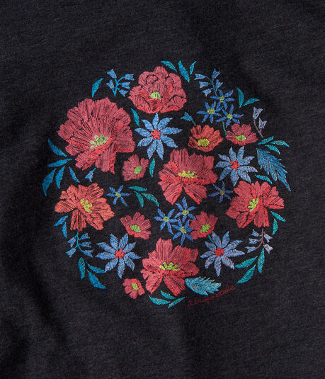 Floral Circle Graphic Tee