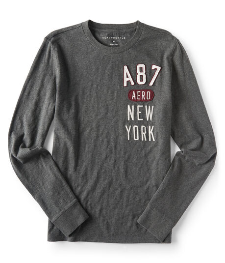 Long Sleeve A87 Aero New York Graphic Tee