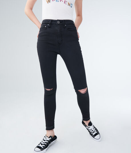 bb3fa6029d588 Seriously Stretchy Super High-Waisted Ankle Jegging ...