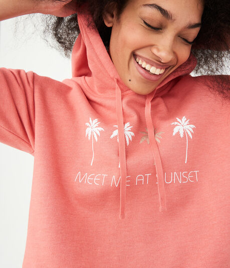 Meet Me At Sunset Pullover Hoodie