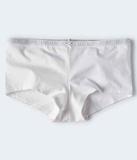Logo Cotton Boyshort
