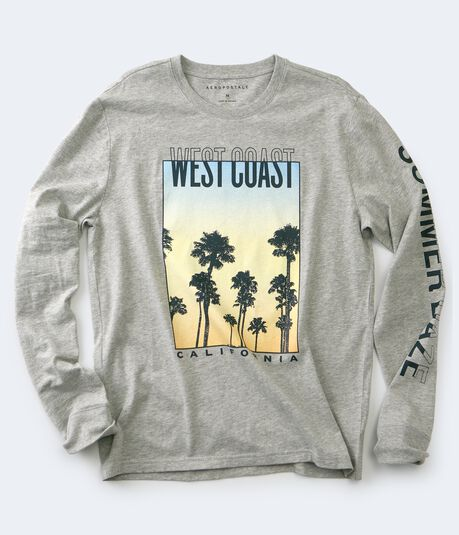 Long Sleeve West Coast Summer Daze Graphic Tee