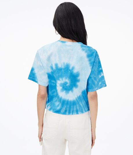 Rice Krispies Tie-Dye Cropped Graphic Tee***