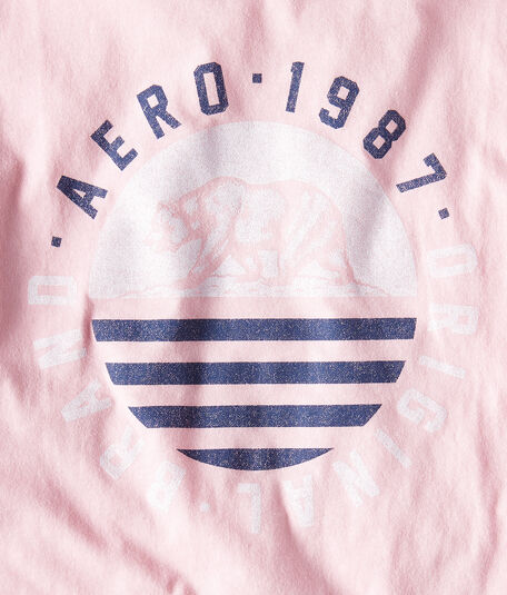 Aero Circle Bear Graphic Tee