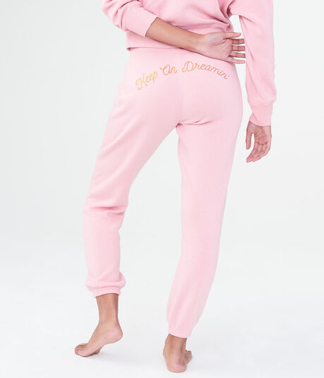 LLD Keep On Dreamin' Yummy Cinch Sweatpants
