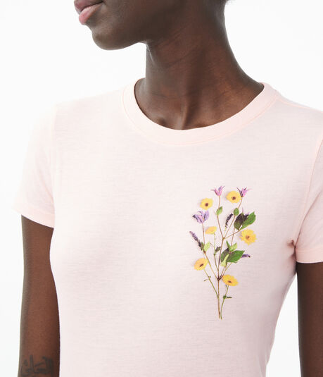 Floral Bouquet Graphic Tee