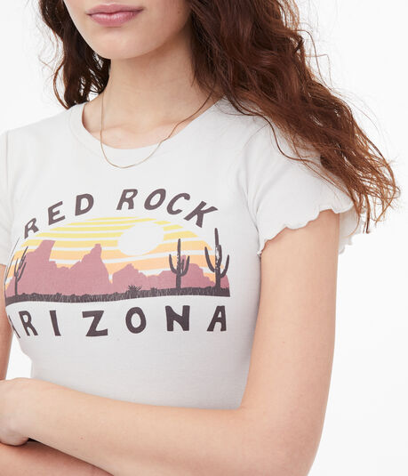 Arizona Desert Graphic Shrunken Tee
