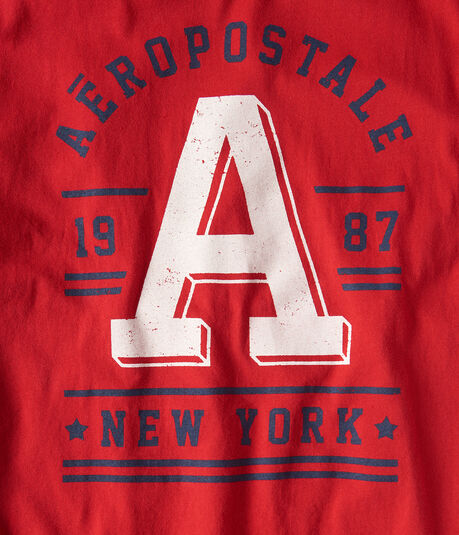 "Aeropostale Big ""A"" Graphic Tee"