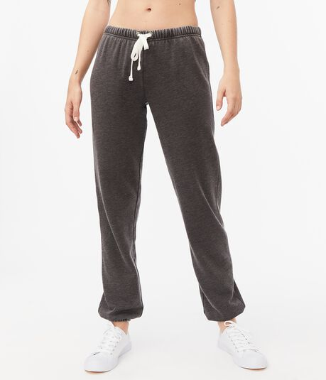 Solid Cinched Sweatpants