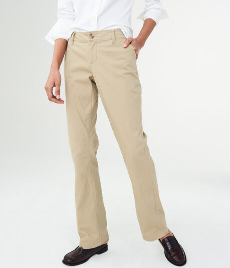 Curvy Classic Stretch-Woven Pants