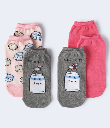 Milkin' It Ankle Sock 3-Pack