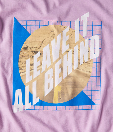 Leave It All Behind Graphic Tee