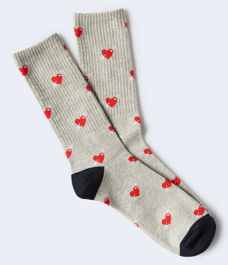 Shot Through The Heart Crew Socks