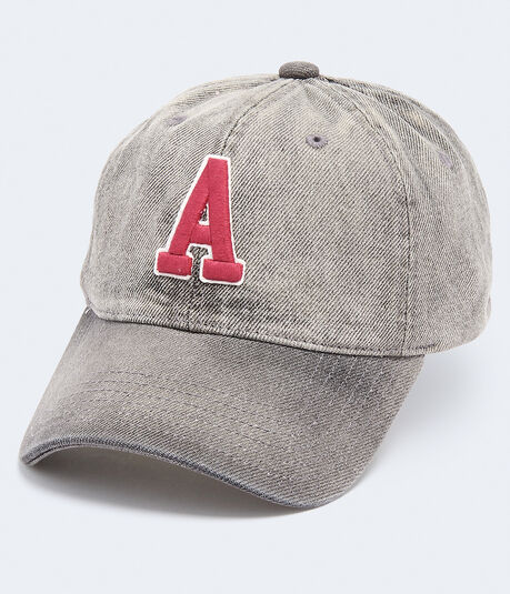 Large Letter Adjustable Hat