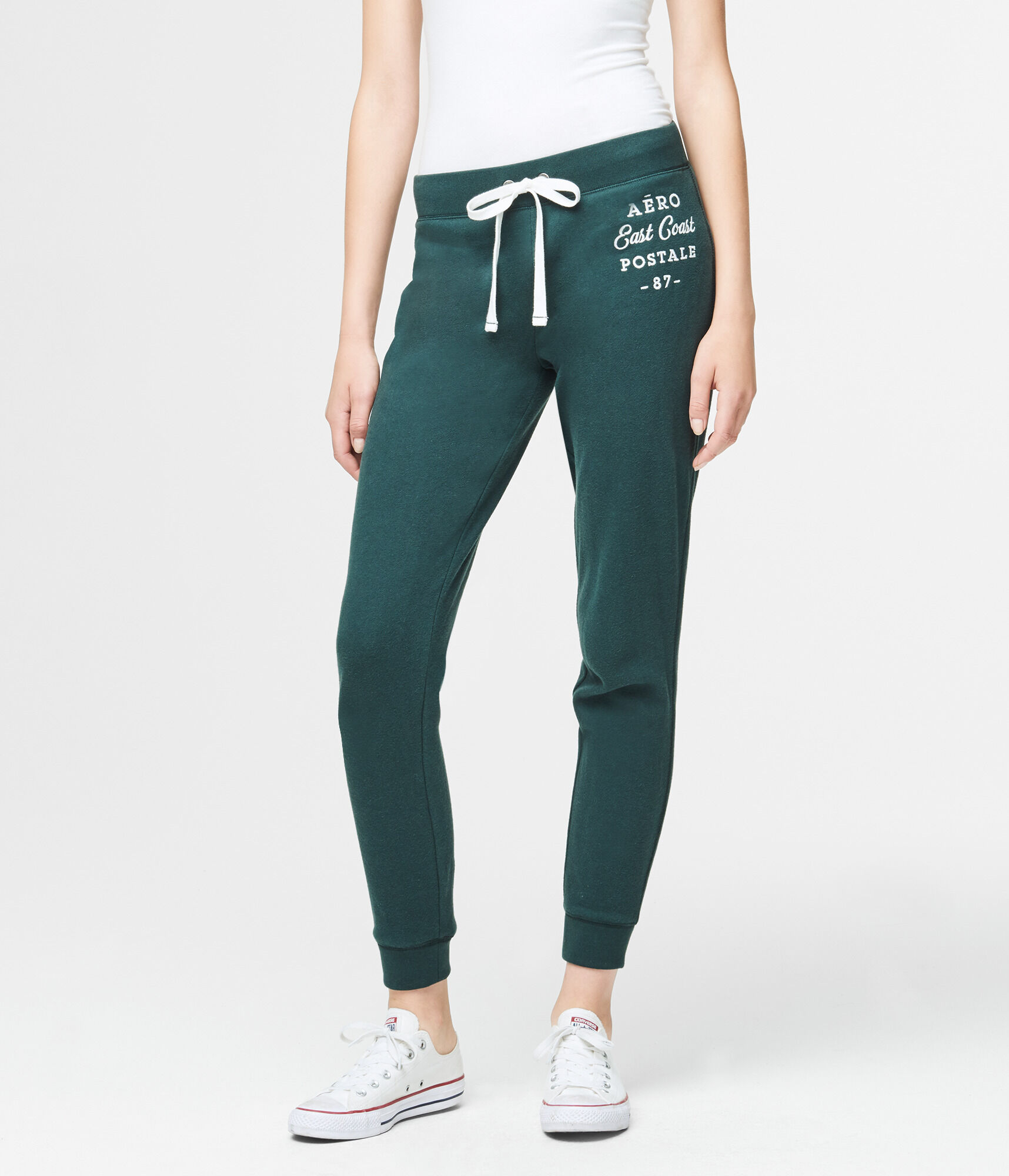 Fashion style Boyfriend Aeropostale sweatpants for girls