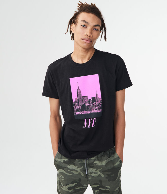 NYC Square Graphic Tee