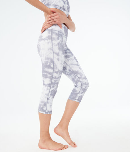 LLD Tie-Dye Crop Leggings