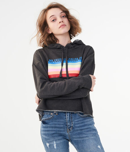 My Favorite Color Is Rainbow Pullover Hoodie