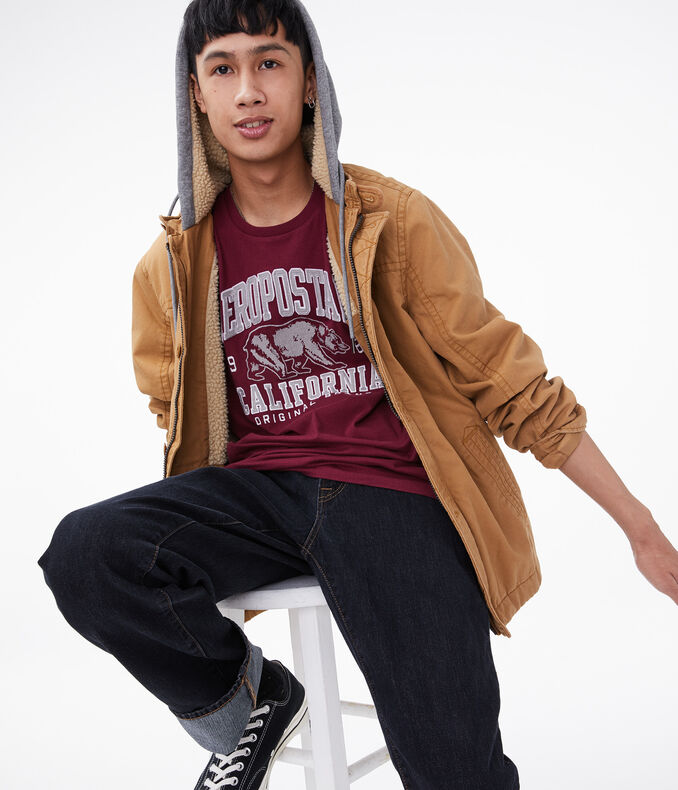Aeropostale California Bear Graphic Tee
