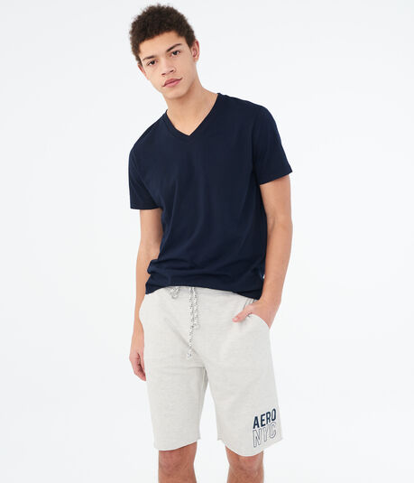 "Aero NYC 9"" Fleece Shorts"