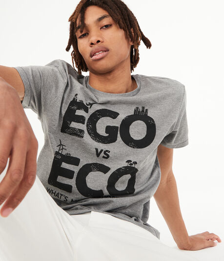 Ego Vs Eco Graphic Tee