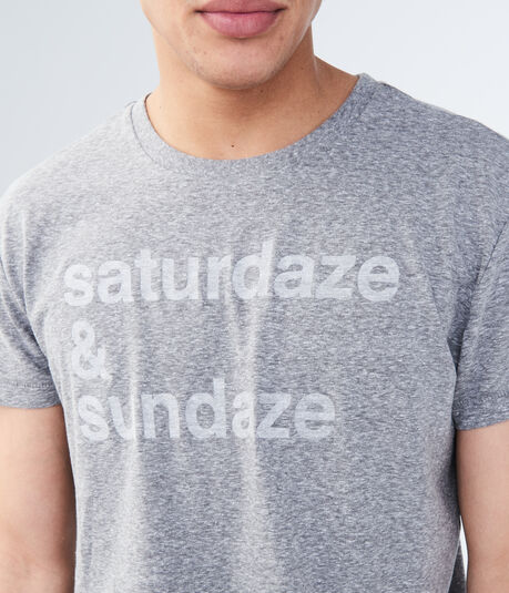 Saturdaze & Sundaze Graphic Tee