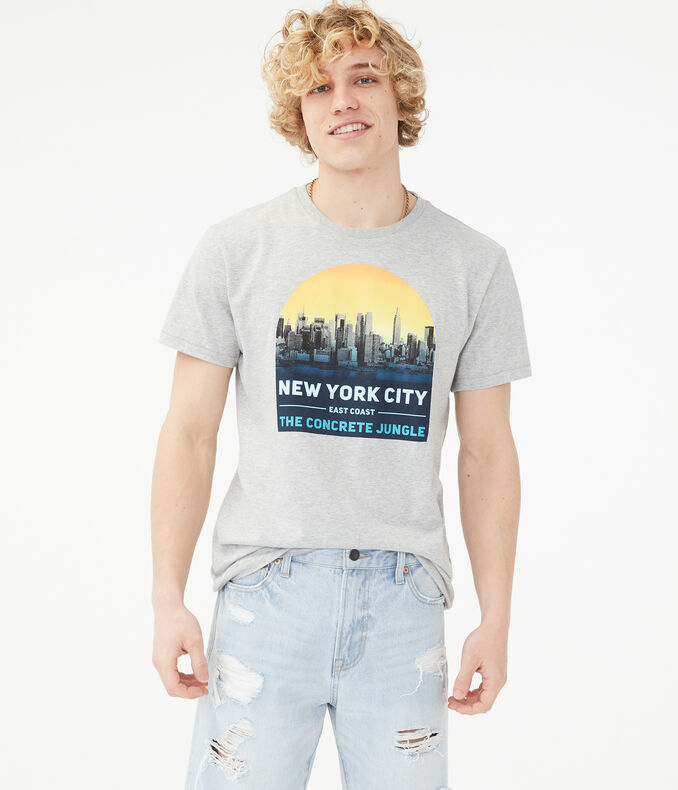 Free State New York City Sunset Graphic Tee