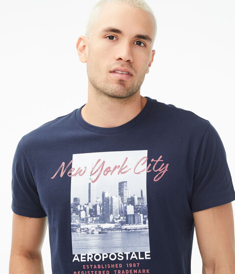 New York City Imagery Graphic Tee