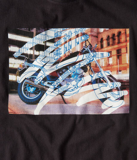 City Moto Graphic Tee