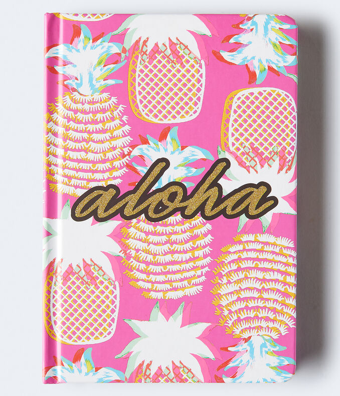 Aloha Pineapple Bound Notebook