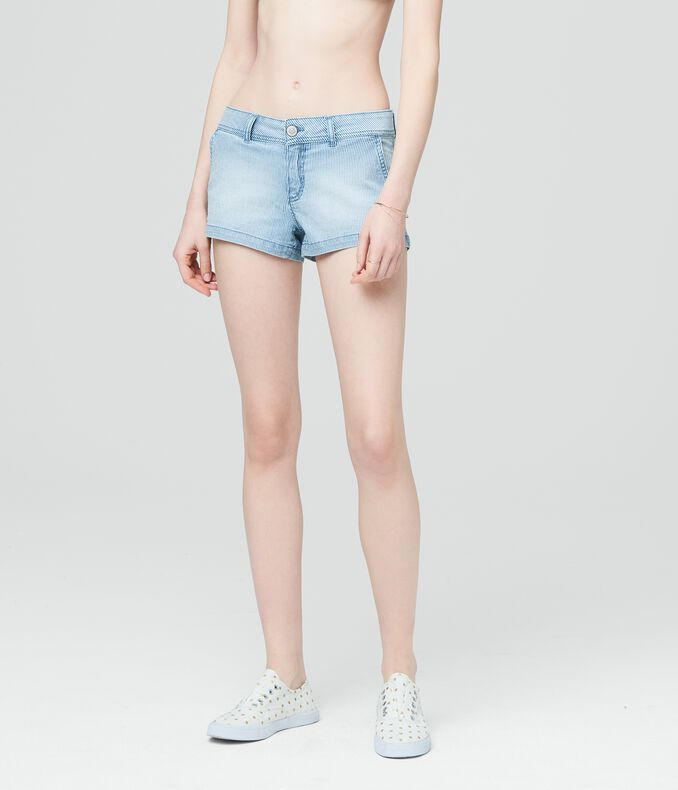 Prince & Fox Railroad Stripe Shorty Shorts