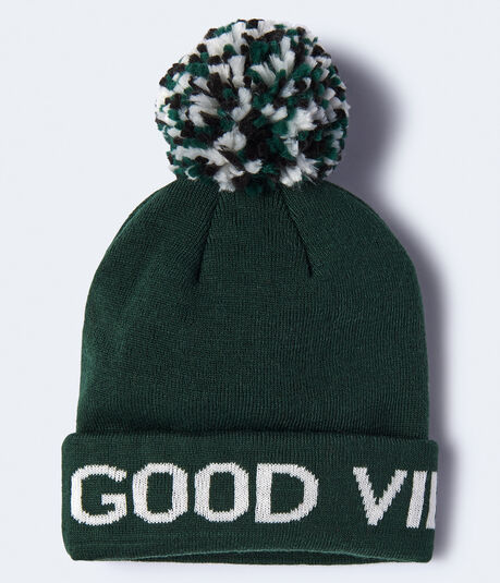 Good Vibes Only Beanie