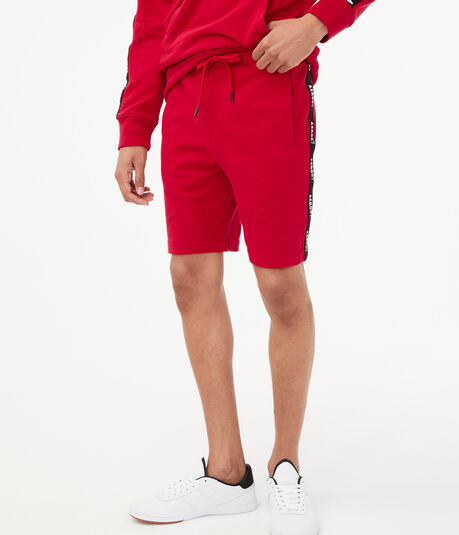 Aero87 Stripe Fleece Shorts